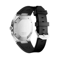 Automatic Rubber 41.5 mm - Silver
