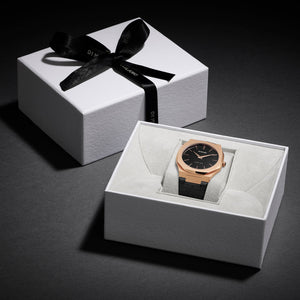 Ultra Thin Suede 40 mm - Gold Black