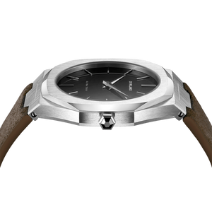 Ultra Thin Suede 40 mm - Siena Brown