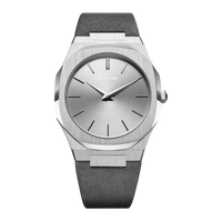 Ultra Thin Suede 38 mm - Milano Grey