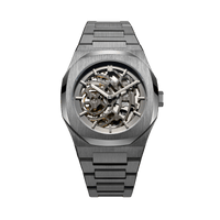 Skeleton Bracelet  41.5 mm - Gun Metal