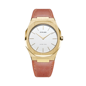 Ultra Thin Leather 38 mm - Siena