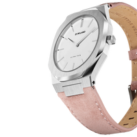 Ultra Thin Suede Leather 38 MM - Dolomia