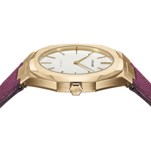 Ultra Thin Suede Leather 38 MM - Vigna