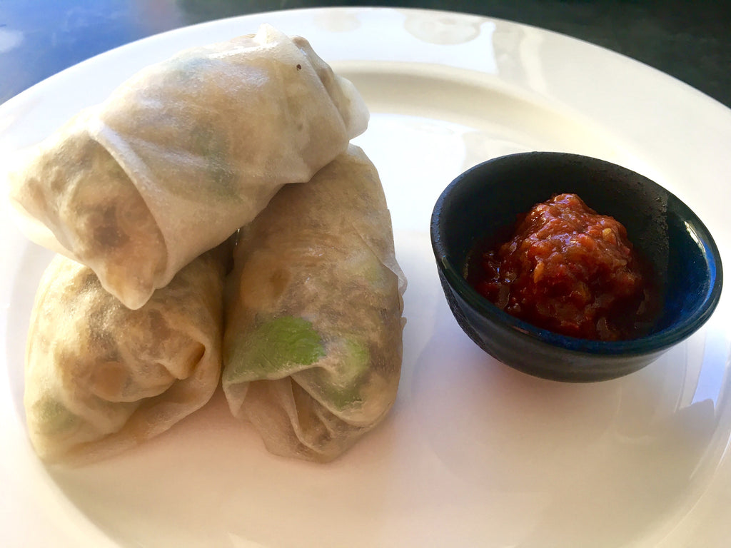 Mama's Beef Rice Paper Rolls