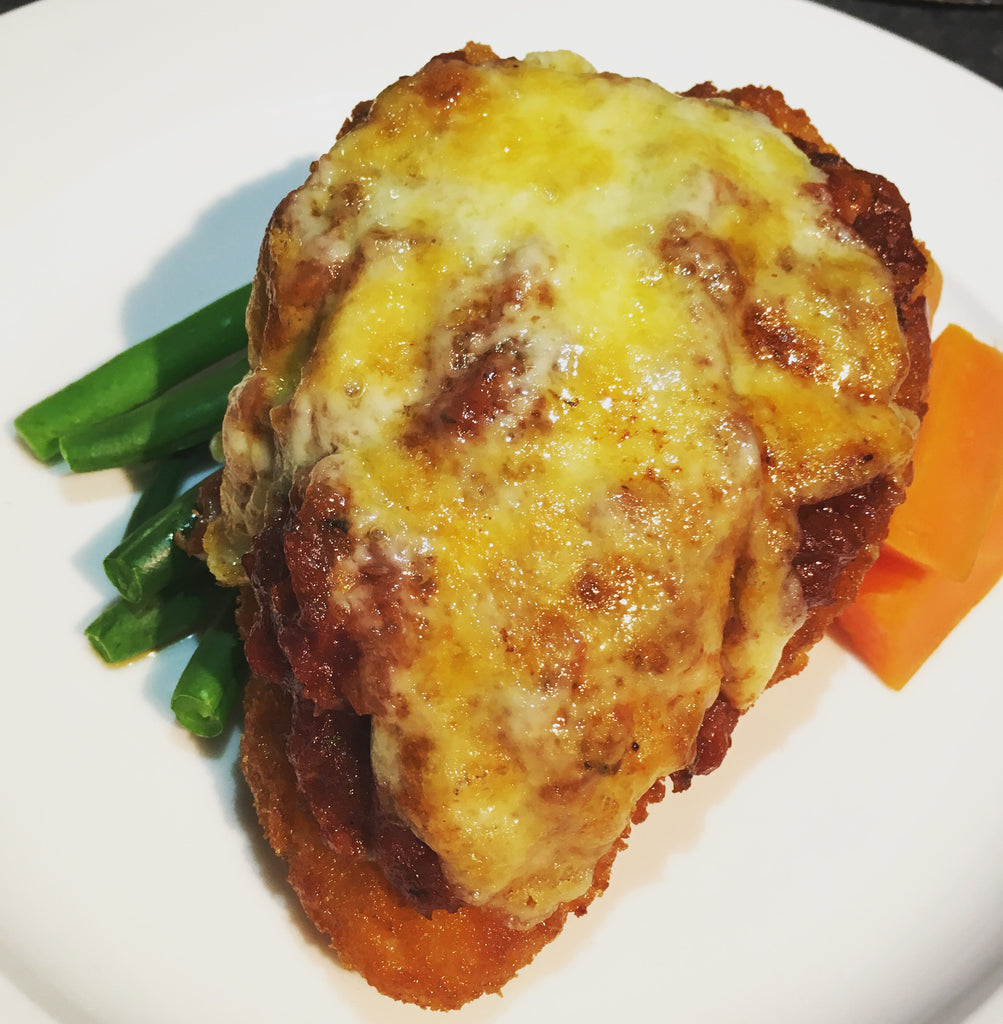 Fiery Chicken Parmy
