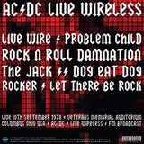 AC/DC, LIVE WIRELESS, Limited Edition Coloured Vinyl