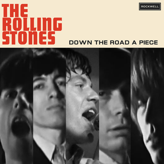 The Rolling Stones, DOWN THE ROAD A PIECE, Limited Edition Coloured Vinyl