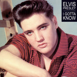 Elvis Presley, I GOTTA KNOW, clear Orange Vinyl, Limited Edition of 120 copies