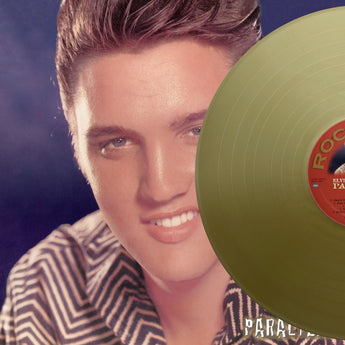 Elvis Presley, PARALYZED, Gold Vinyl, Limited Edition of 175 copies