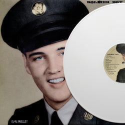 Elvis Presley, SOLDIER BOY, White Vinyl, Limited Edition of 150 copies