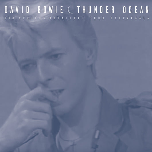 David Bowie, THUNDER OCEAN, Limited Edition Coloured Vinyl