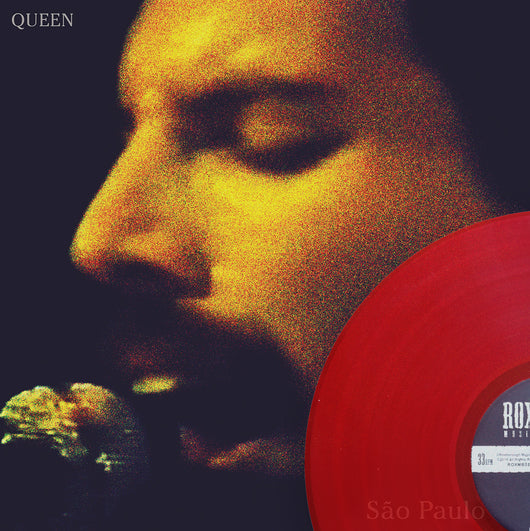 Queen, São Paulo, Limited Edition Coloured Vinyl