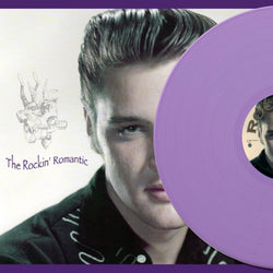 Elvis Presley, THE ROCKIN' ROMANTIC, Lilac Vinyl, Limited Edition 200 copies