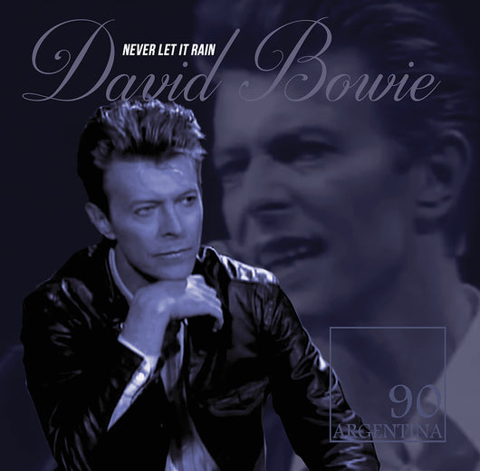 David Bowie, NEVER LET IT RAIN, Limited Edition Coloured Vinyl