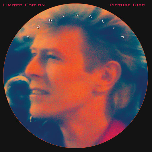 David Bowie, AUSTRALIA, Limited Edition PICTURE DISC