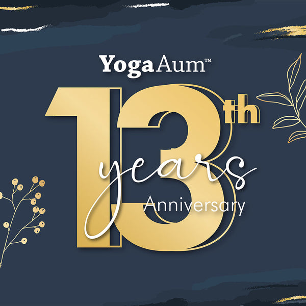Celebrate YogaAum's 13th Anniversary