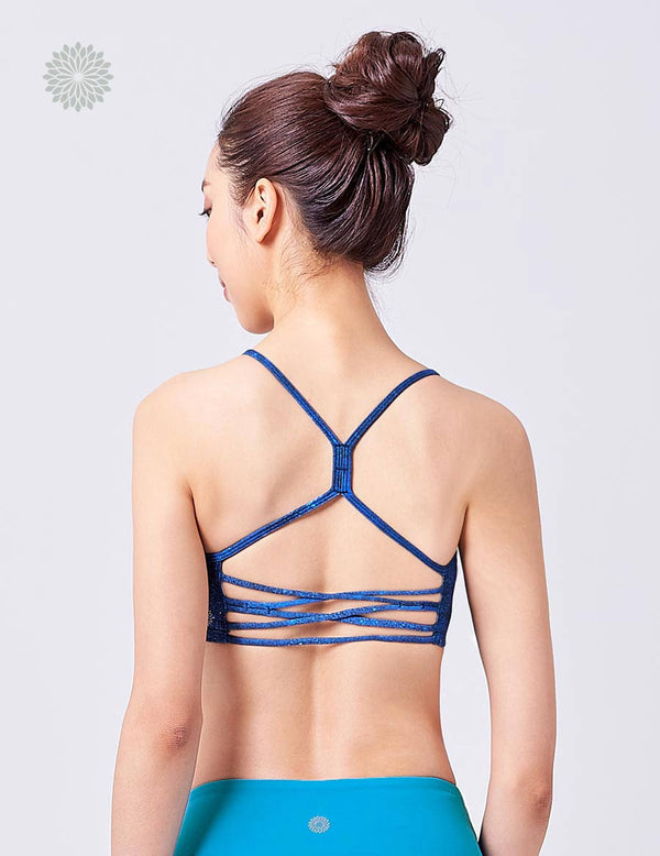 easyoga LA-VEDA Breeze Bra2 - F67 Starry Night