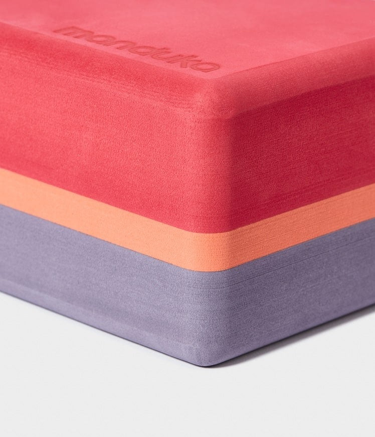 Manduka Recycled Foam Yoga Block (Limited Edition) - Esperance