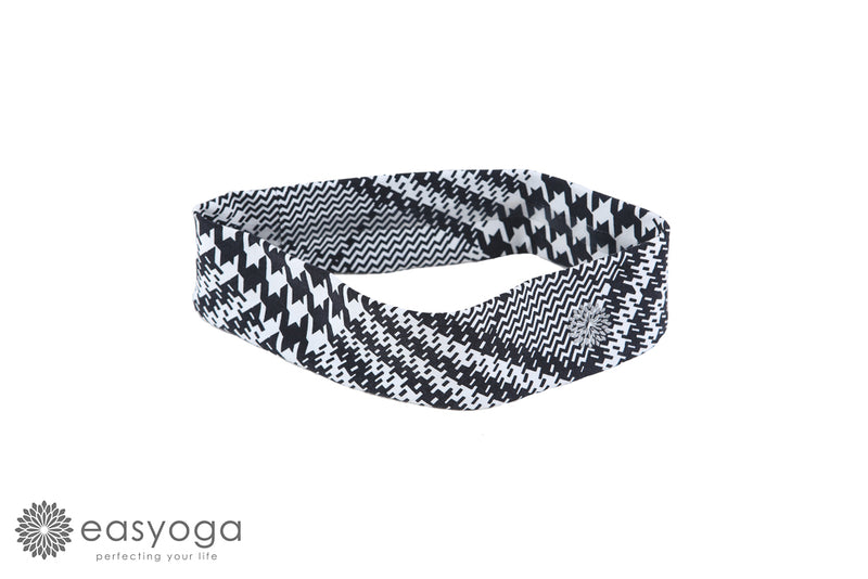 easyoga Lespiro Skidproof Headband 101 - TC4 Plaid