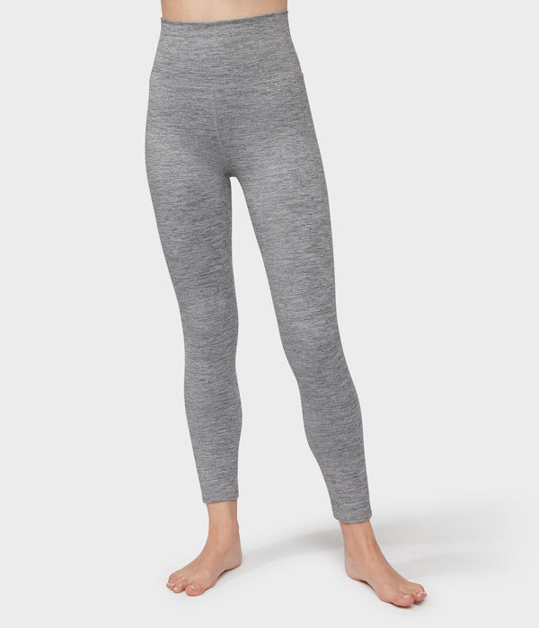 Manduka Apparel - Women's Essential Ankle Legging - Stone Melange-2