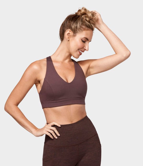Manduka Apparel - Women's Mudra Bra - Fig