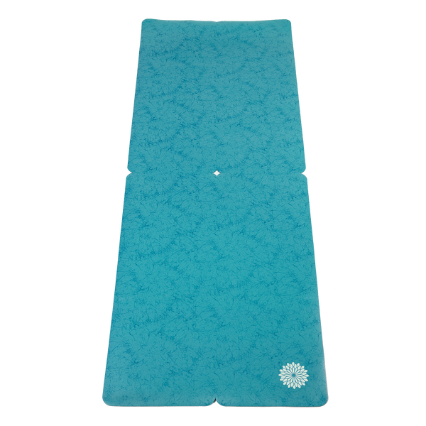 easyoga Breathin' Aurora Pro Mat - B4 Blue Green