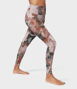 Manduka Apparel - Women's High Rise Flow Legging - Luminance Foil