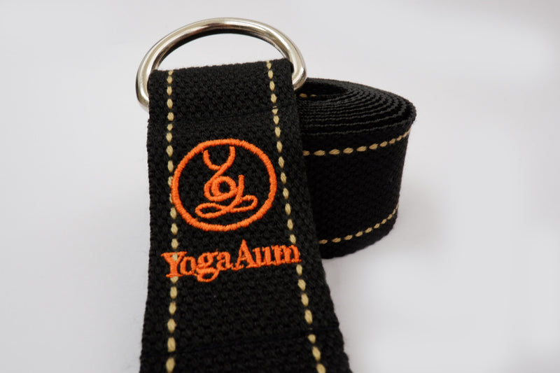 YogaAum AumStrap - Ribbon Black