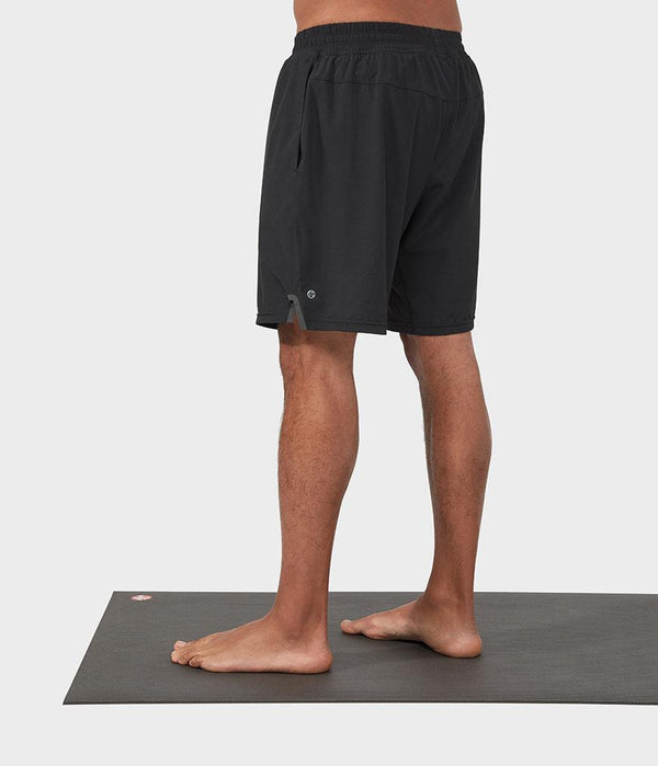 Manduka Apparel - Men's Lunge Short - Black