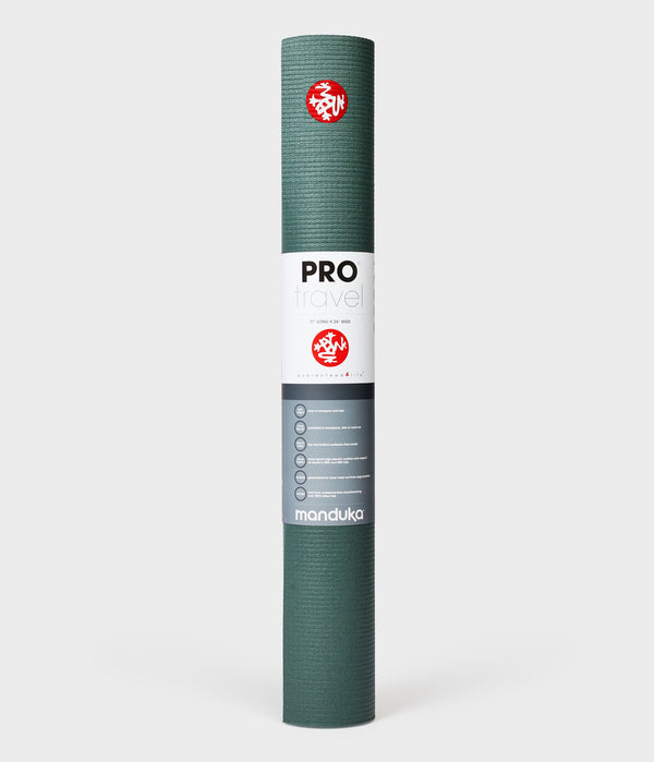 Manduka PRO® Travel yoga mat 2.5mm - Black Sage