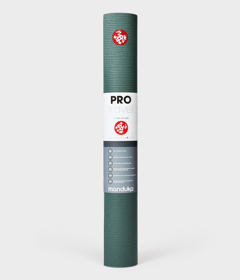 Manduka PRO Travel Yoga Mat - Black Sage