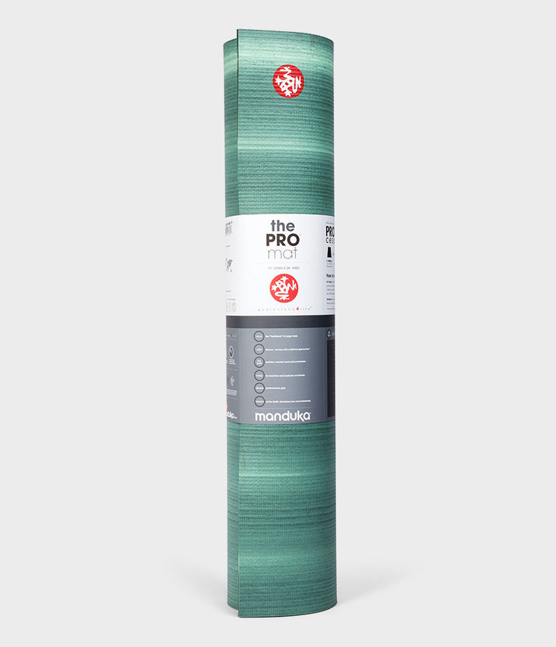 Manduka PRO® Yoga Mat 6mm (Limited - Color Fields) - Green Ash CF