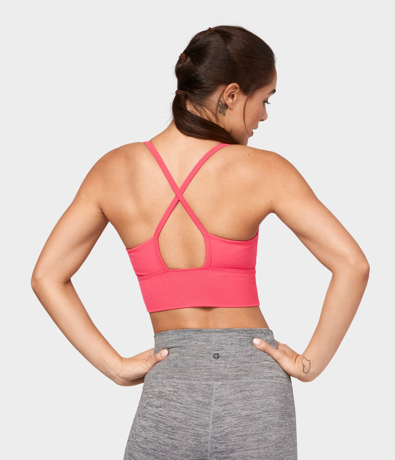Manduka Apparel - Women's Darted Bra - Grape Fruit