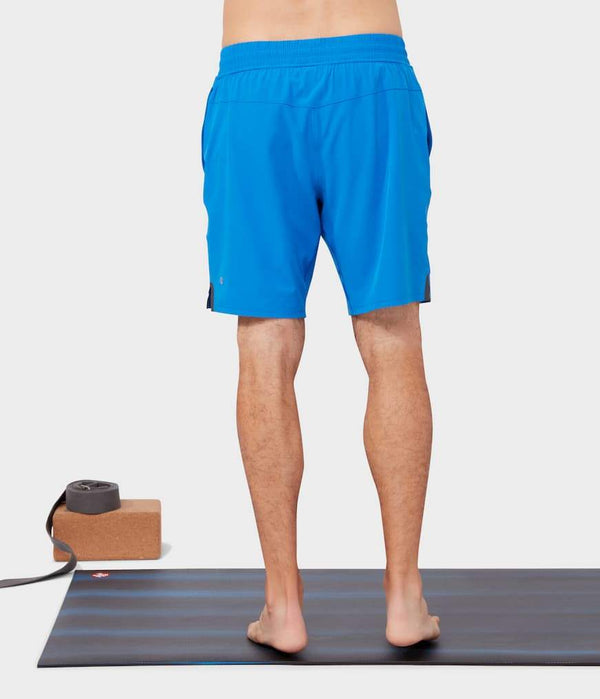 Manduka Apparel - Men's Lunge Short - Be Bold Blue