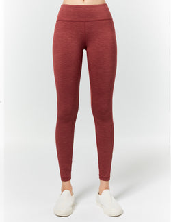 easyoga LA-VEDA Twiggy Core Tights3 - M42 M-Brick red