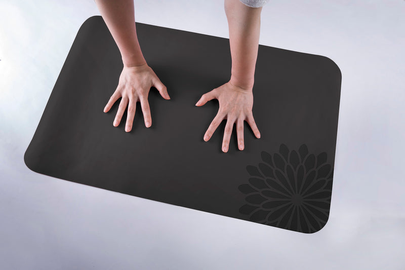 easyoga Breathin' Space Pro Mat - Hand Size - A2 Dark Gray