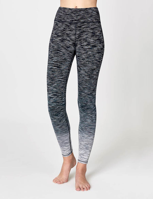 easyoga LA-VEDA Conflux Tights - D59 Layer Gray Stripe