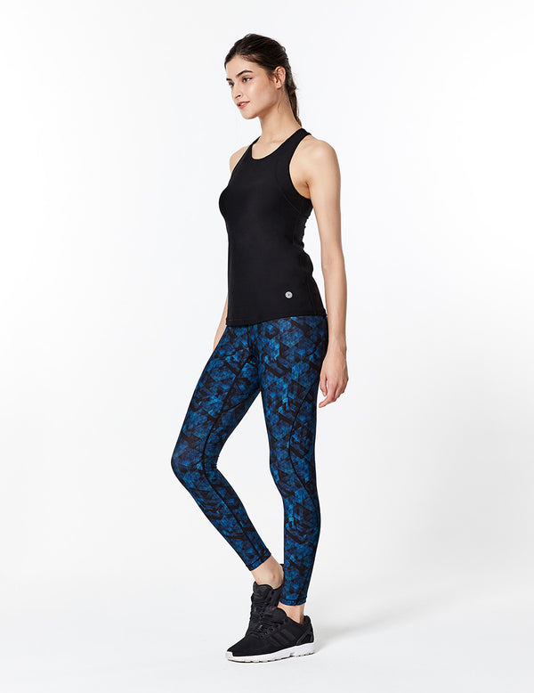 easyoga Lespiro S Flow Tights - F98 Geometric