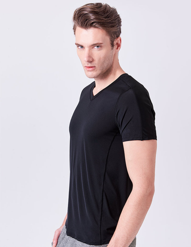 easyoga Lespiro Men's Action Tee - L1 Black