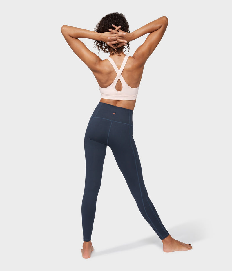 Manduka Apparel - Women's Essential Pocket Legging - Nocturnal