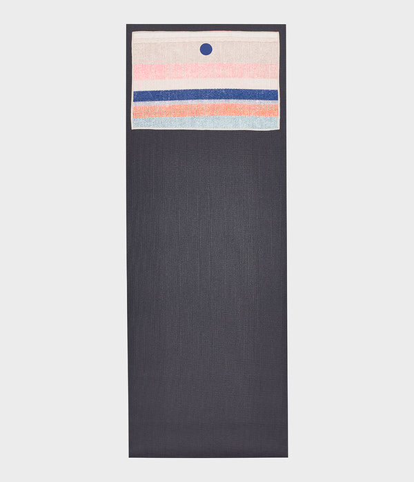 yogitoes® yoga hand towel - Linen Stripe