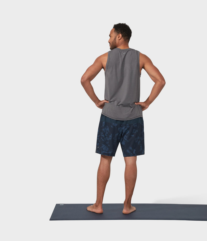 Manduka Apparel - Men's Pro Top - Tech Slim Fit Tank - New Grey