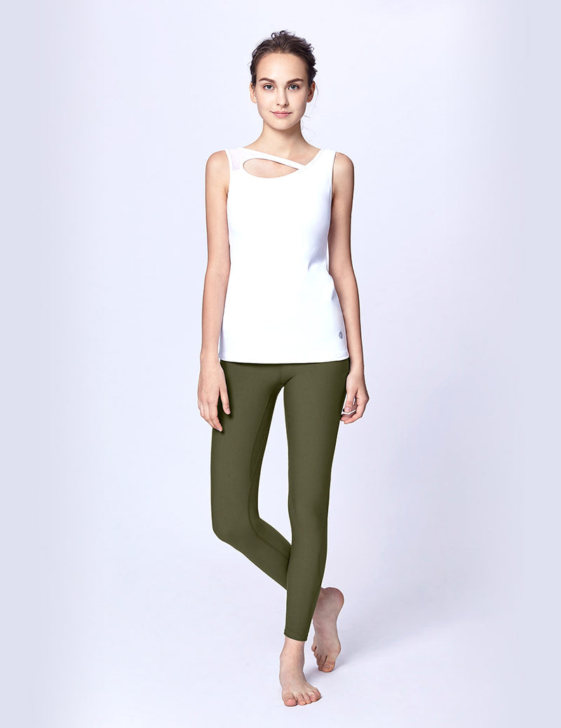 easyoga LA-VEDA Ethereal Wavy Core  Tight - G30 Moss Green