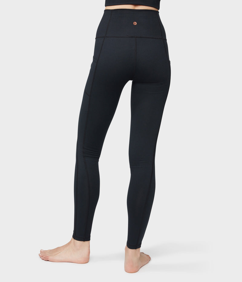 Manduka Apparel - Women's Essential Pocket Legging - Black-2