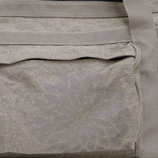 easyoga Premium Carry-all Canvas Yoga Bag- Dots - C9 Light Brown