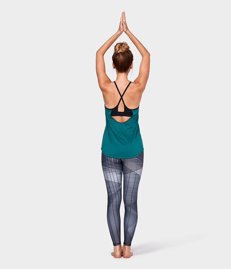 Manduka Apparel - Women's Breeze Support Cami - Emerald