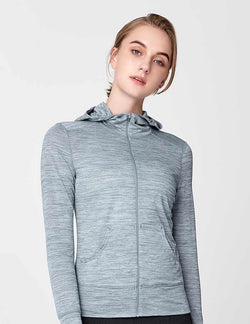 easyoga Lespiro Anti-UV Travel Jacket - M20 M-Light Blue