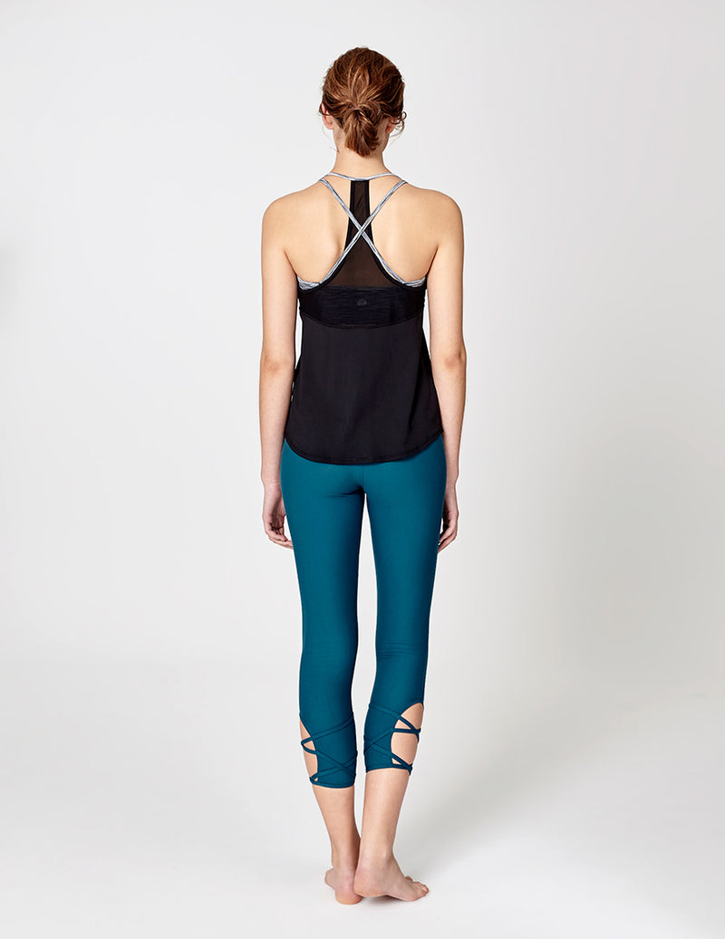 easyoga LA-VEDA Astral Layered Tank1 - L1 Black