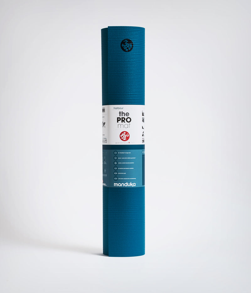 Manduka Black Mat PRO Yoga Mat (Extra Long Limited Edition) - Harbour